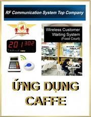 Hệ thống chuông gọi phục vụ Caffe & Ăn nhanh