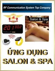 Hệ thống chuông gọi phục vụ Spa & Salon